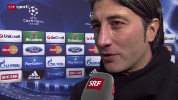 Video «Fussball: Interview mit Murat Yakin («sportlive», 11.12.2013)c» abspielen