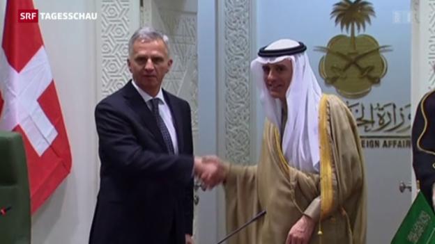 Video «Iran und Saudi-Arabien: Die Schweiz soll vermitteln» abspielen