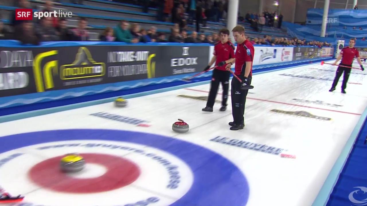 Curling: Schweiz verpasst direkten Final-Einzug