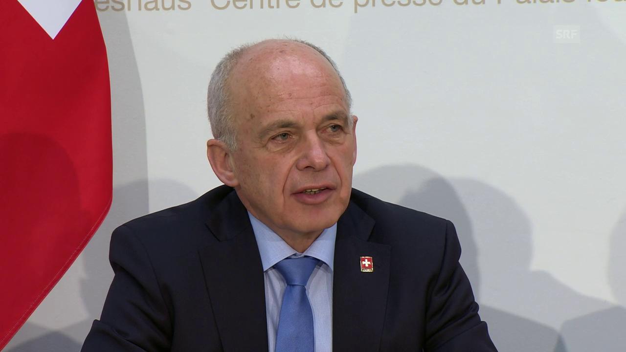 Cusseglier federa Ueli Maurer davart nov urden da finanzas 2021