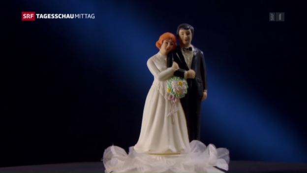 Video «Heiraten liegt im Trend» abspielen