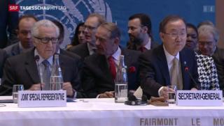 Video «Beginn der Syrien-Friedenskonferenz» abspielen