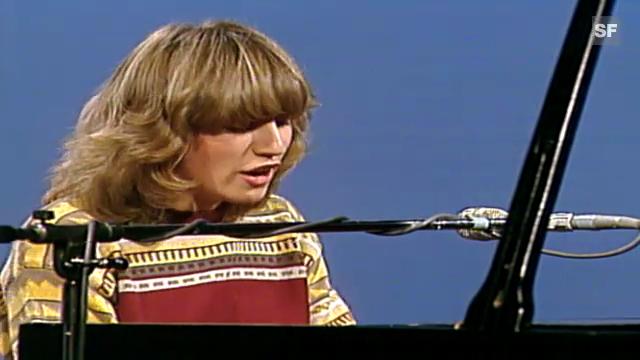 Betty Legler bei einem Auftritt Anfang der 80er Jahre