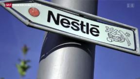 Video «Nestlé auf Wachstumskurs» abspielen