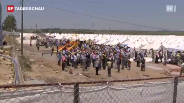 Flüchtlingswelle überflutet die Türkei