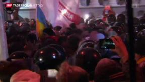Video «Räumungen in Kiew» abspielen