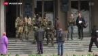 Video «Ukrainische «Anti-Terror-Einheit» geht gegen Separatisten vor» abspielen