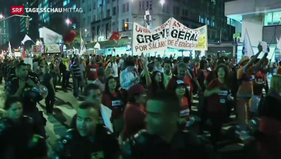 Proteste trüben WM-Vorfreude
