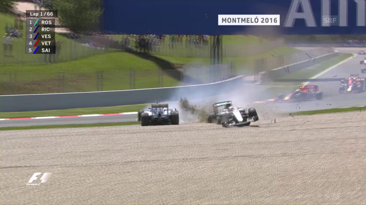 Die leidigen Rencontres der Mercedes-Piloten