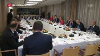 Video «EU-Aussenminister diskutieren Trumps Pläne» abspielen