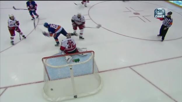 Video «NHL: Das Islanders-Tor zum 4:5» abspielen