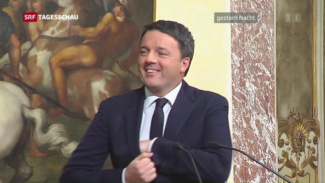 Matteo Renzi geht