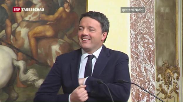 Video «Matteo Renzi geht» abspielen