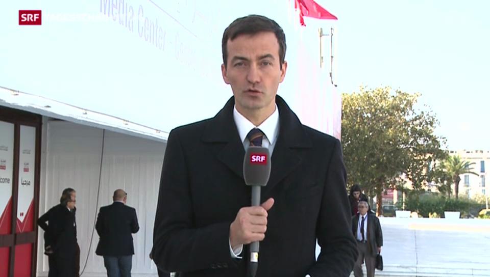 SRF-Korrespondent Michael Gerber zum Sieg Essebsis