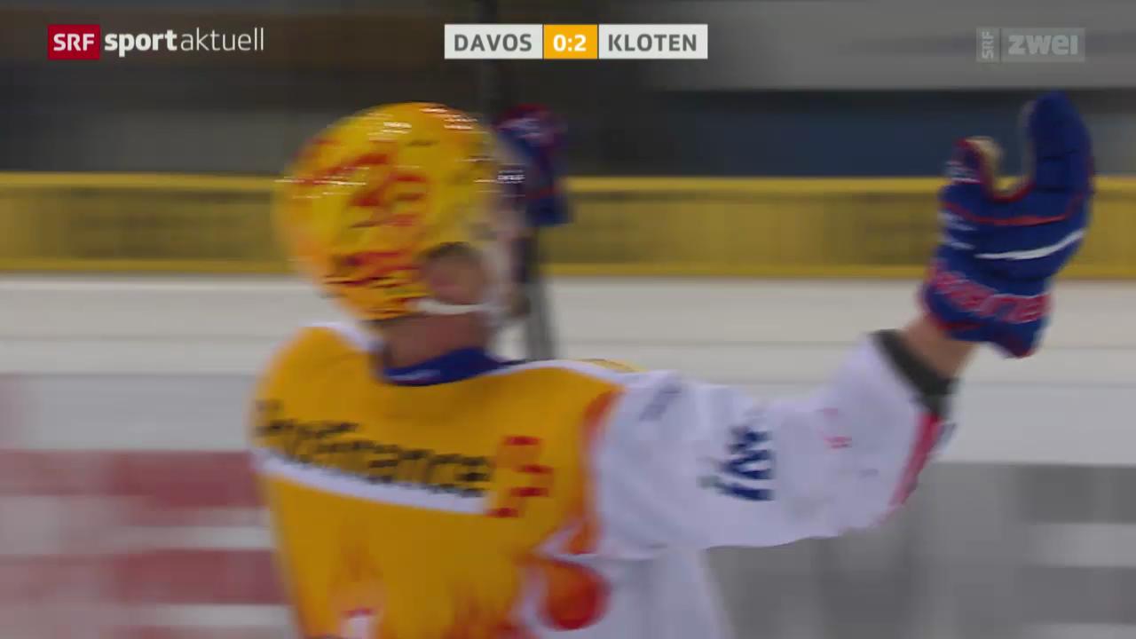 Eishockey: Playoff-Viertelfinal, Davos - Kloten