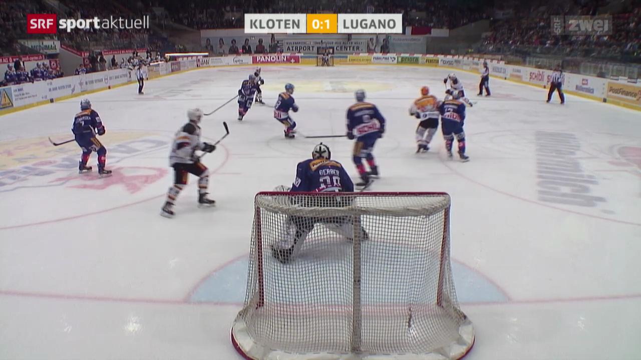 Eishockey: Kloten-Lugano
