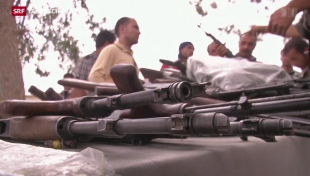 Video «Hilfe für irakische Peschmerga-Kämpfer» abspielen