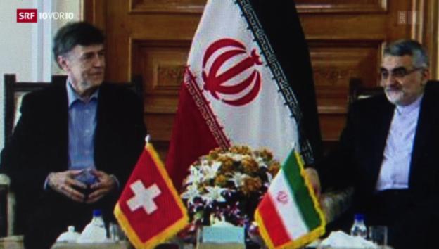 Video «Umstrittener Besuch im Iran» abspielen