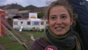 Video «Céline Rey zu Besuch in der Zirkuswelt» abspielen
