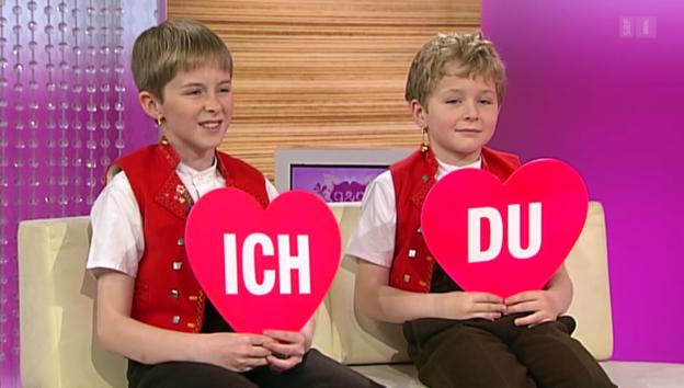 Video «Joshua und Samuel Brogers Kurz-«Ich oder Du»» abspielen