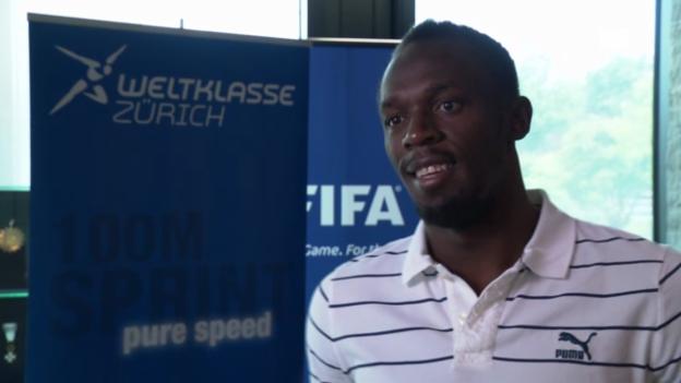 Video «Interview mit Usain Bolt» abspielen