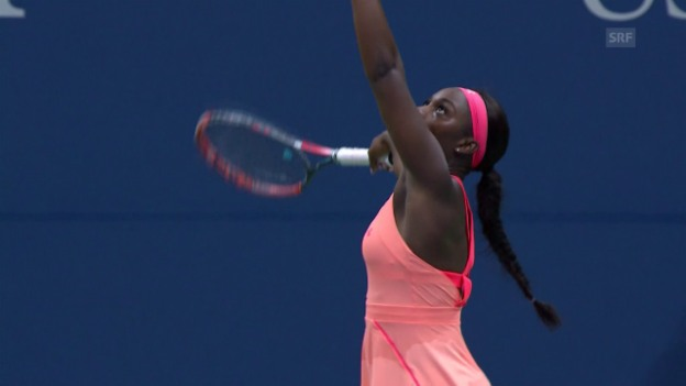 Video «Stephens ringt V. Williams nieder» abspielen