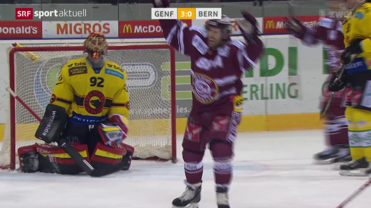 Eishockey: NLA, Genf - Bern