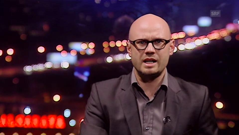 SRF-Nahost-Korrespondent Pascal Weber