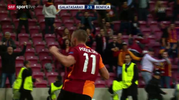 Video «Fussball: CL, Galatasaray - Benfica» abspielen