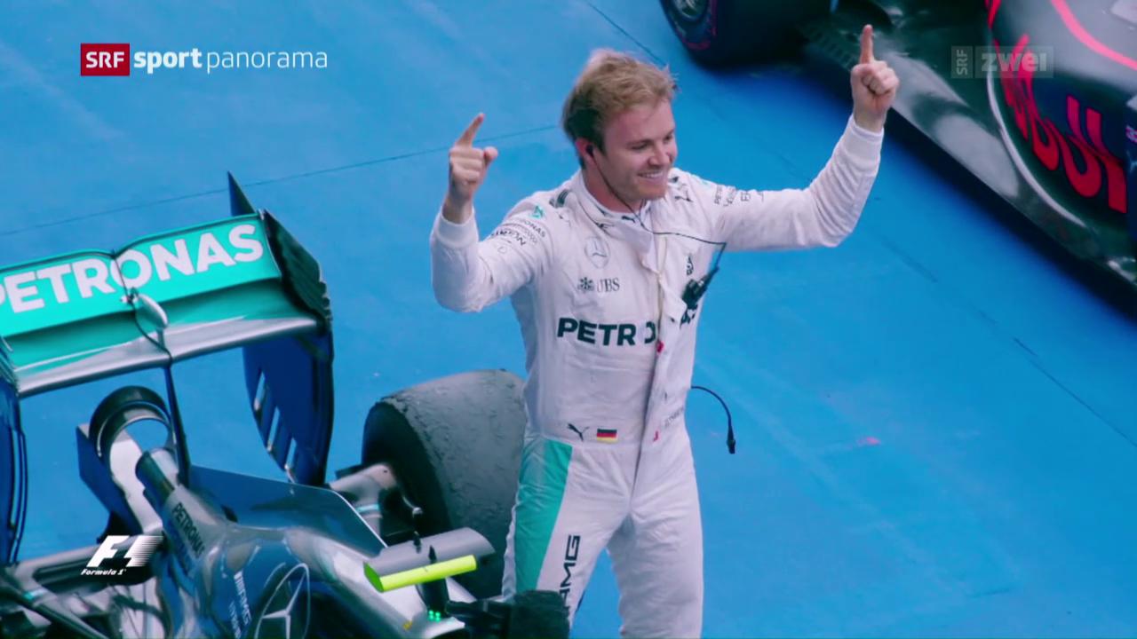 Weltmeister Nico Rosberg im Porträt