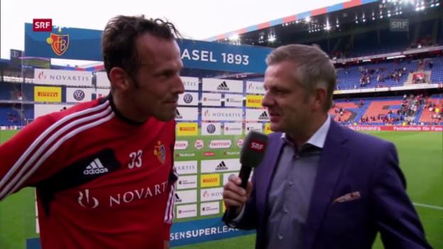 Video «Interview mit Marco Streller («sportpanorama»)» abspielen