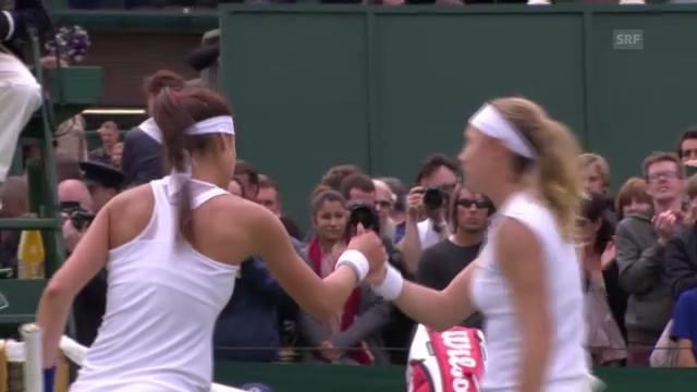 Wimbledon: Wichtigste Punkte Vögele - Cirstea («sportlive»)