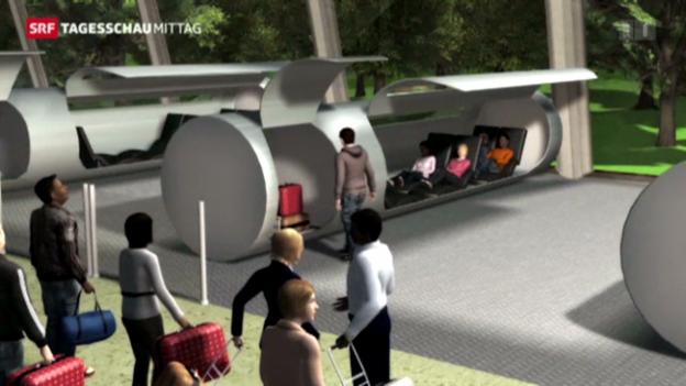 Video «Menschen-Transport in einer Röhre» abspielen