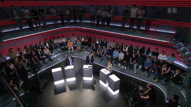 Video «Service Public – die Publikumsdebatte» abspielen
