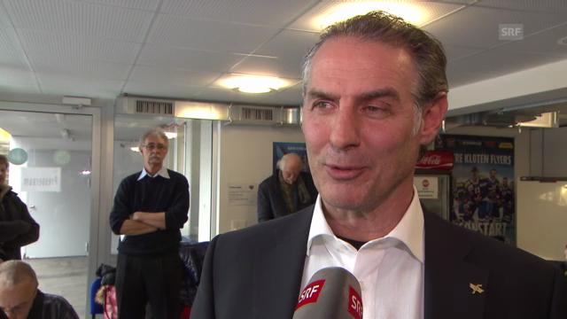 Eishockey: Interview mit Felix Hollenstein