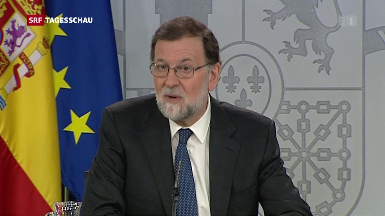 Misstrauensantrag gegen Spaniens Regierungschef