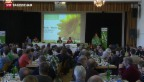 Video «Solidarität mit Greenpeace-Aktivist Weber» abspielen