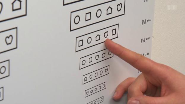 Video «Seh- und Hörschwächen bei geistig Behinderten testen» abspielen