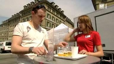 Video «Bier-Degustation: So schmeckt das Euro-Bier» abspielen