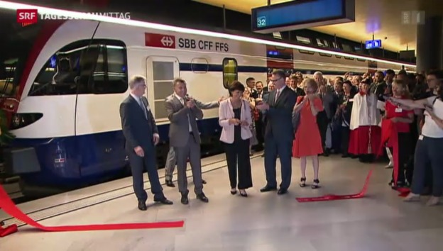 Video «Meilenstein im Bahnverkehr» abspielen