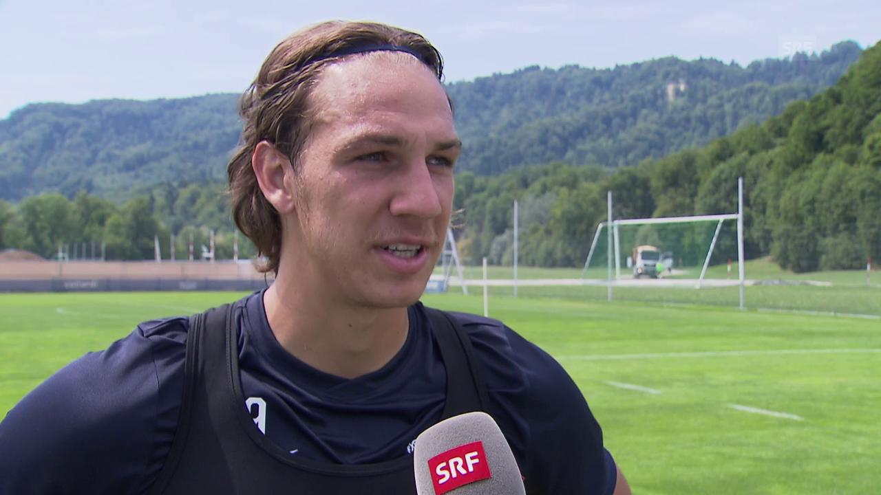 FCZ-Neuzugang Michael Frey zum Saisonstart
