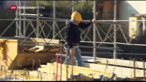 Video «Leicht rückgängige Arbeitslosenzahlen» abspielen