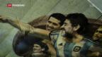 Video «Neuer Wallfahrtsort für Argentinien-Fans» abspielen