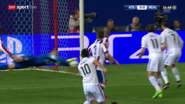 Video «Fussball: CL, Atletico-Real: Die Paraden von Oblak» abspielen