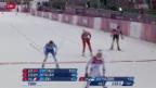 Video «Langlauf: Skating-Sprint der Frauen» abspielen