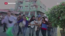 Video «Venezolaner drängen zum Einkaufen nach Kolumbien» abspielen
