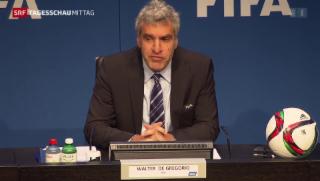Video «Fifa reagiert auf Festnahmen» abspielen