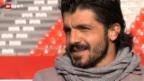 Video «Gennaro Gattuso – ein grosser Fussballer, der sich selbst geblieben ist» abspielen