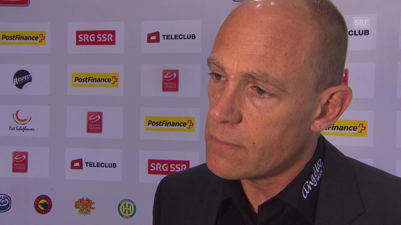 Eishockey: Interview mit Hans Kossmann