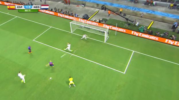Video «Arjen Robbens 5:1 gegen Spanien» abspielen